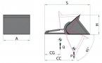 Hydraulická lopata TYP 971 (na nosné vidlice)