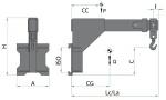 Výsuvné jeřábové rameno TYP 975